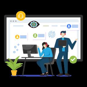 Bold Eye Media website WordPress support icon